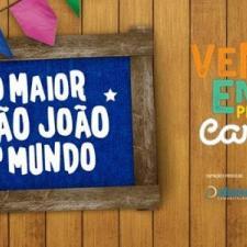 São João Campina Grande. Imagem Divulgação Fan Page Oficial São João Campina.