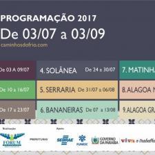 O anúncio do calendário aconteceu durante assembleia do Fórum Turístico do Brejo
