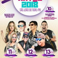 Programação do Carnaval 2018 de São João do Tigre/PB